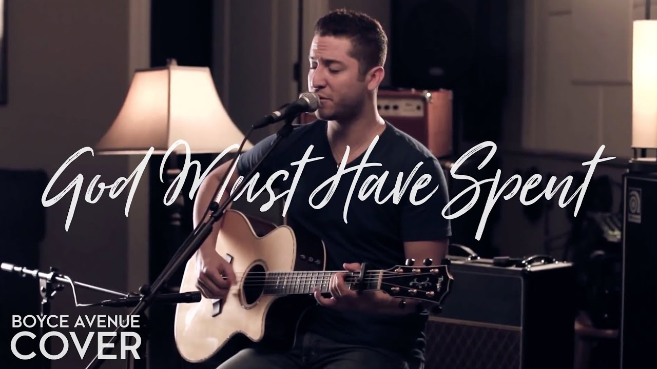 N'SYNC - God Must Have Spent (Boyce Avenue acoustic cover) on Spotify & Apple