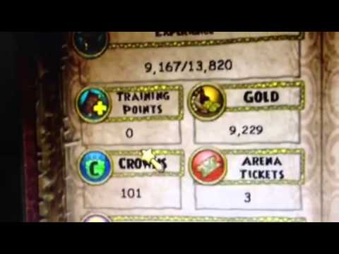 wizard 101 cheats to get training points