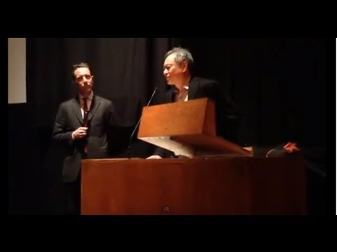 Ang Lee Talks about making of Lust Caution at 2013 Harvard Film Festival