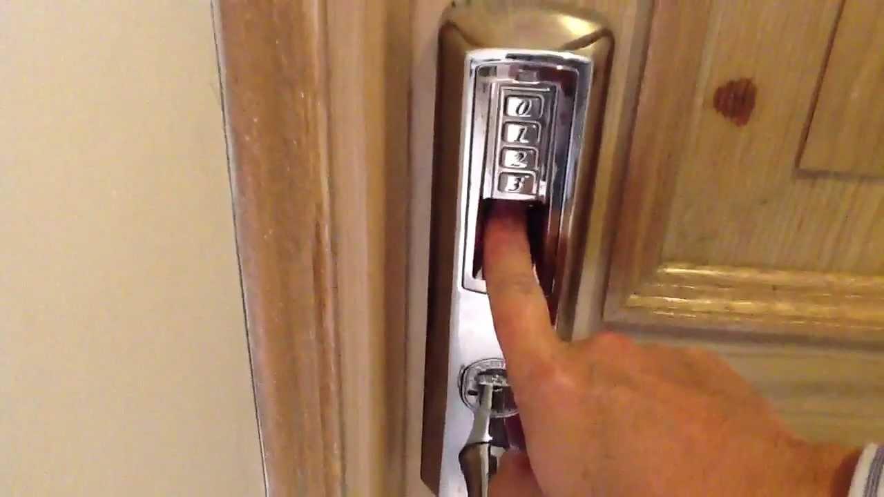 Tch 8908 cerradura con lector de huella para puerta de - Cerradura seguridad puerta ...