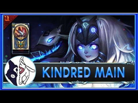 RedKind  Kindred Main Compilation  1 MILLION MASTERY POINTS  League of legends