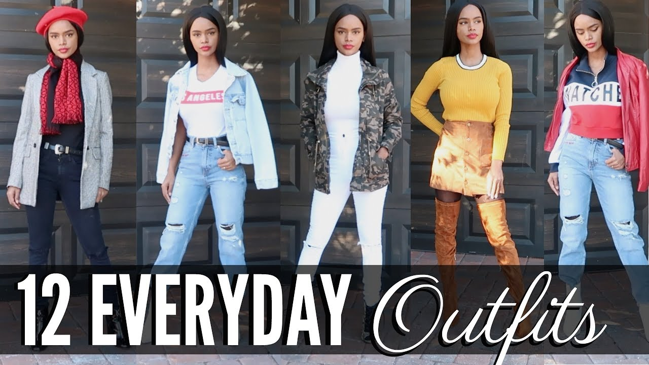 338abac9d6da 12 Everyday Casual Outfits Ideas 2018 | Winter Casual Outfits - YouTube