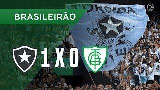 BOTAFOGO 1 X 0 AMÉRICA-MG - GOL - 16/09 - BRASILEIRÃO 2018