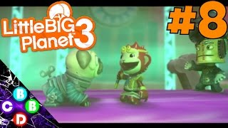 THIS SOCK IS ODD - Little Big Planet 3 #8 (2 Player Co-Op)
