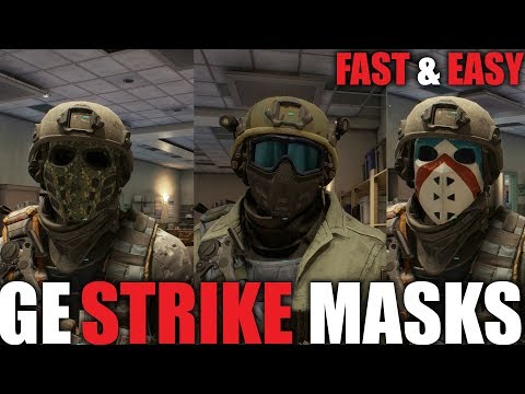 GLOBAL EVENT STRIKE | FAST WAY TO GET ALL THREE STRIKE MASK | FULL GUIDE | THE DIVISION