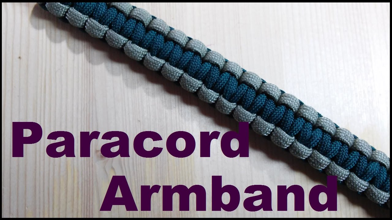 paracord armband einfach kn pfen anleitung youtube. Black Bedroom Furniture Sets. Home Design Ideas
