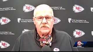 Chiefs Coach Andy Reid Gives Update On Son After Crash That Injured Young Girl