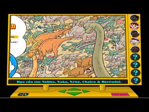 Hướng dẫn chơi game ĐÔRÊMON: Chú khủng long lạc loài - Game Vui
