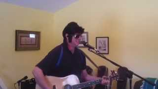 If I can dream (Elvis Presley) acoustic cover by Rick Baker
