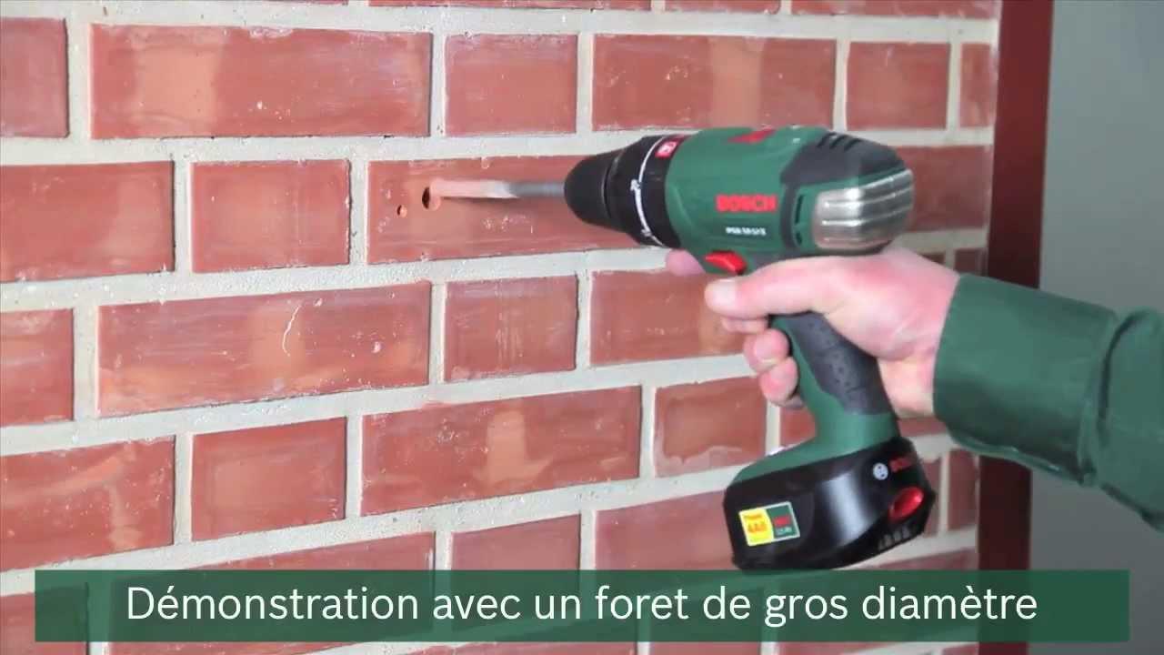 comment percer un mur