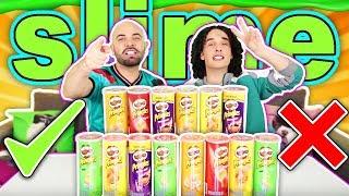 No elijas las Pringles INCORRECTAS - Slime Challenge
