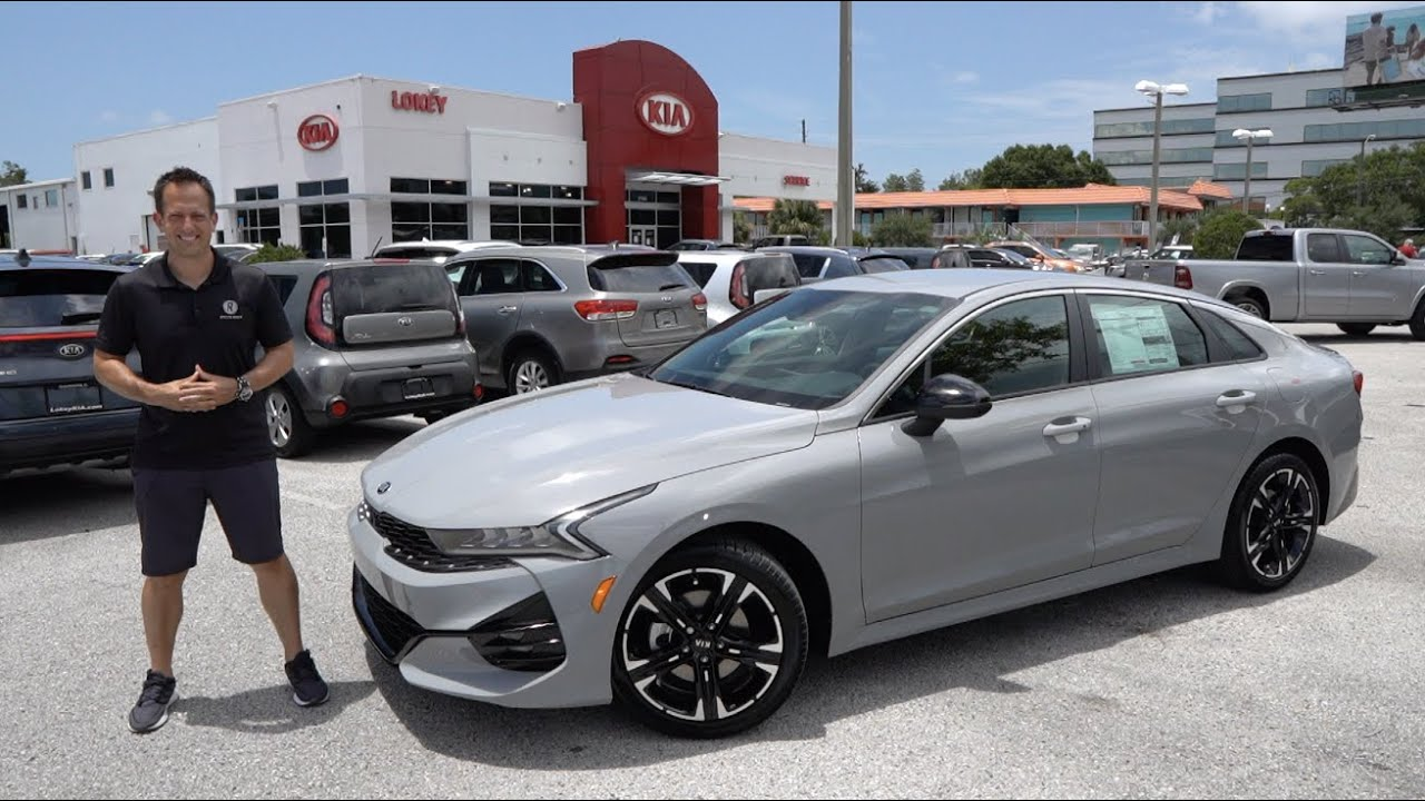 Is the NEW 2021 Kia K5 GT-Line the BEST midsize sport ...