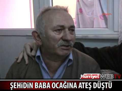 Jandarma Onbaşı Metin Çetin'in Rize'deki baba ocağına ateş düştü