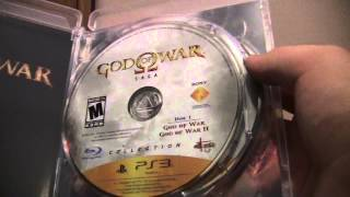God of War Saga PS3 Unboxing! 2 Discs!