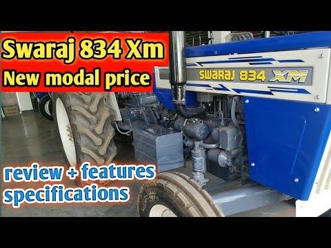 Swaraj 834 Xm Traktor New Modal 2019 Review - Hindi Complete Video Review