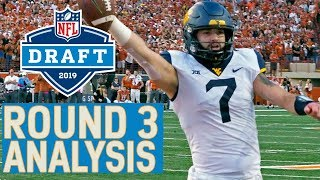 Round 3 Player Highlights & Pick Analysis | 2019 NFL Draft