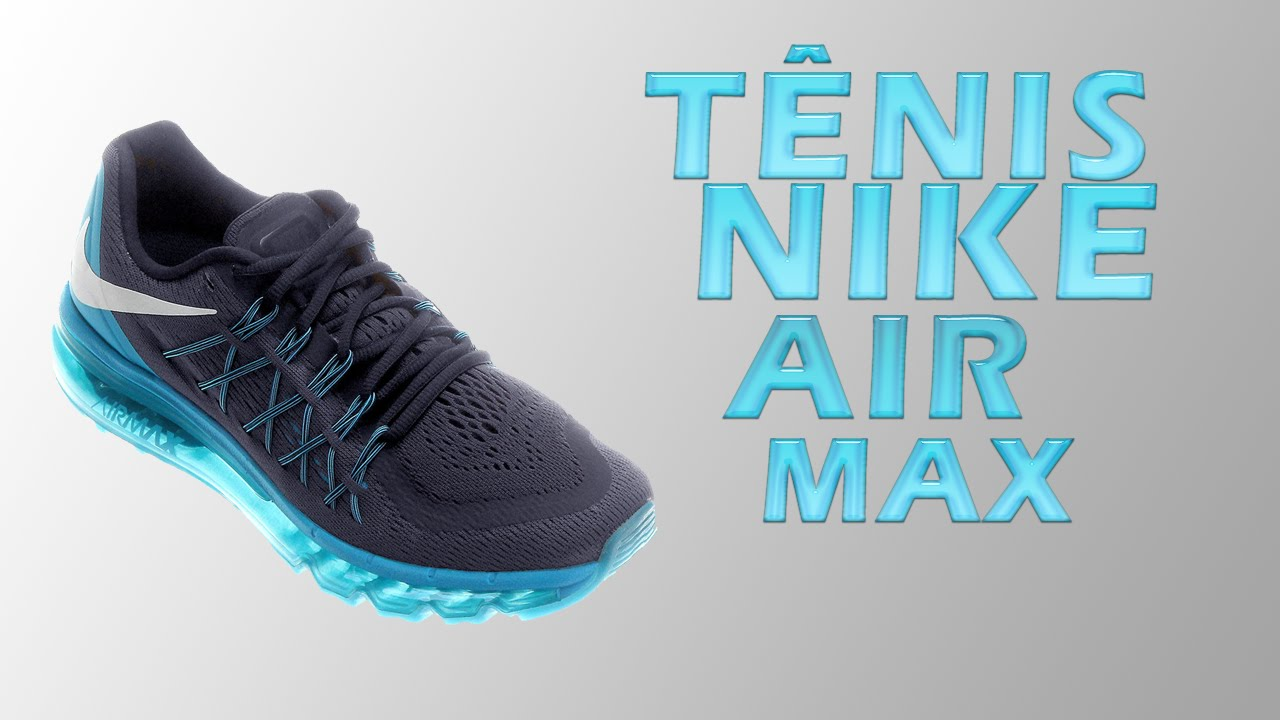 wholesale dealer a2653 56a1f Unboxing Nike Air Max 2015 - Netshoes  5 - YouTube