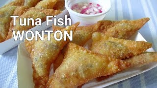 Tuna Fish Wonton I How to make Fried Tuna Fish Wonton