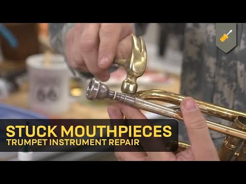Stuck Mouthpieces: Trumpet Instrument Repair