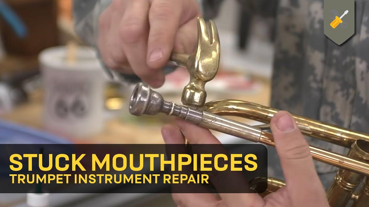 Trompete Posaune Horn Brass Mundstück Repair Tool Trompetenmundstück