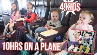 4 KIDS ON A PLANE FOR 10HRS (flying to Disney World)