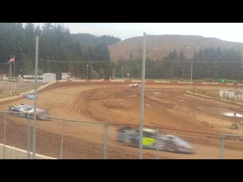 5-20-17 late model trophy dash race coos bay speedway
