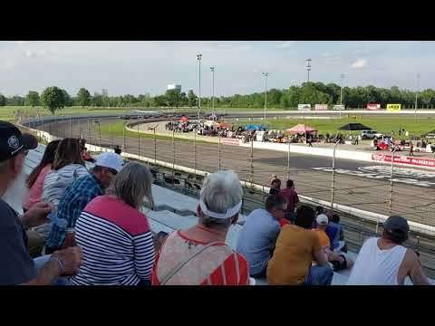Pro Mazdas at IRP Lucas oil speedway. On a short track?