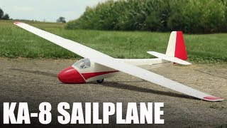 Flite Test - KA-8 Sailplane - REVIEW