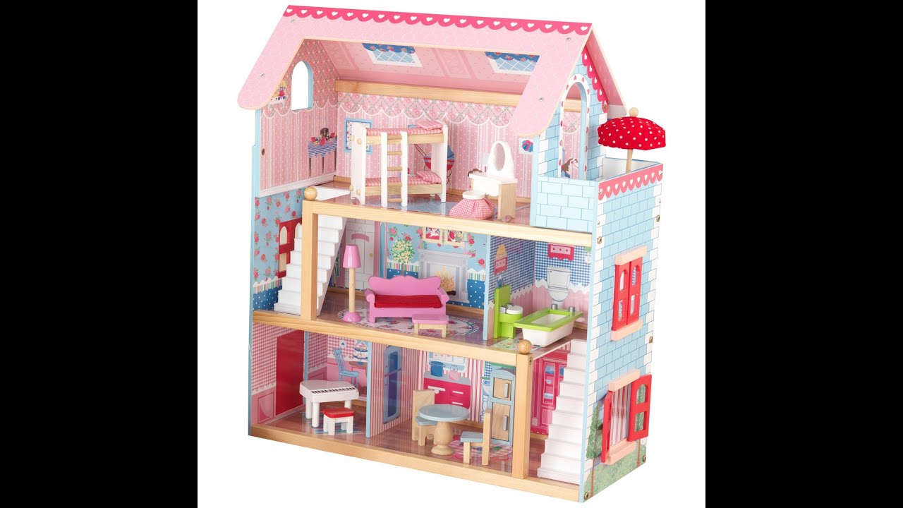 Barbie Doll House Stop Motion Video For Kids Stop Motion Barbie Doll