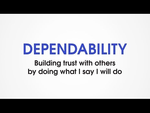 (G7) Dependability - Character Trades. Character traits games for kids.