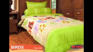 Sprei My Love Motif Anak|Harga Bed Cover My Love