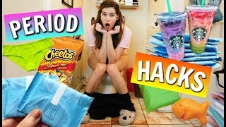 Period Life Hacks for School!