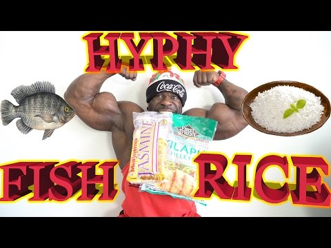 HYPHY FISH + RICE : {Quick Meal} COOKING w/ Kali Muscle