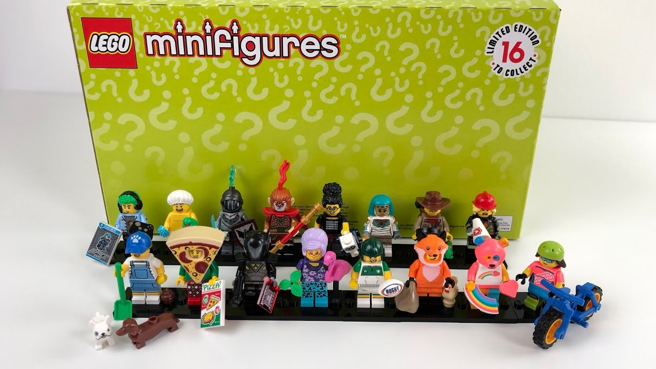 Firefighter LEGO Collectible Minifigures Series 19-71025