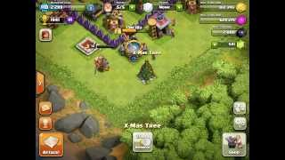 Removing x-mas tree clash of clans