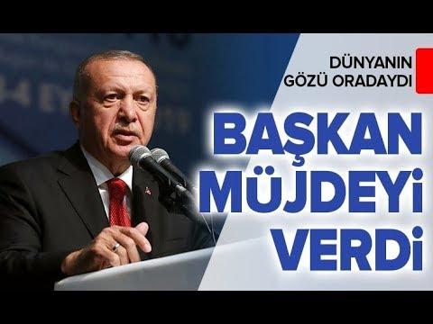 Son dakika! Başkan Erdoğan müjdeyi verdi