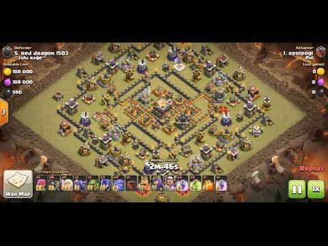 HOW TO 3 STAR MAXED TH11 | RING BASE | CLASH OF CLANS 2018