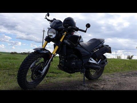 Мини дальняк на китайском мотоцикле ABM X-MOTO RX200 12.06.2018г!