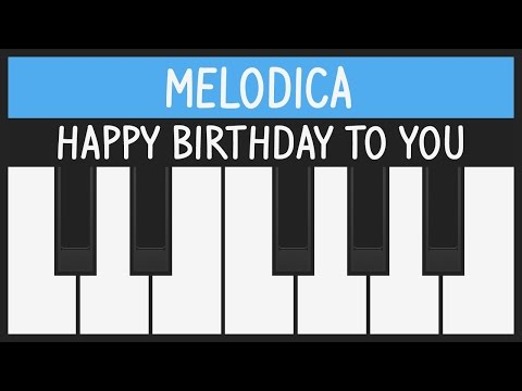 Happy Birthday to You - Melodica Tutorial - Feliz Cumpleaños
