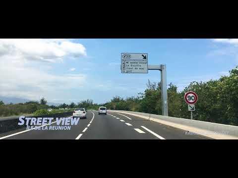 Avenue de l'Océan  -  Entrée du Gol  Saint Louis -  île de la Réunion.
