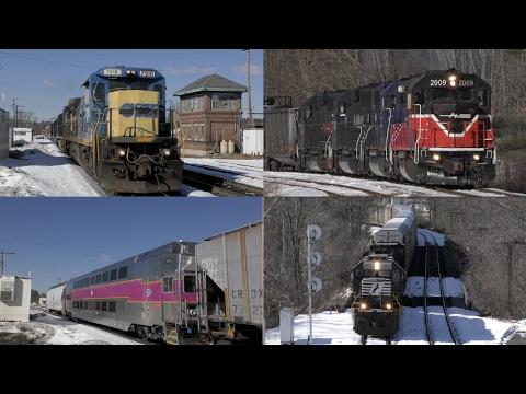 Rte.2 Railfanning Feat: PAR, ExCSX, PW, Amtrak, NS & More!