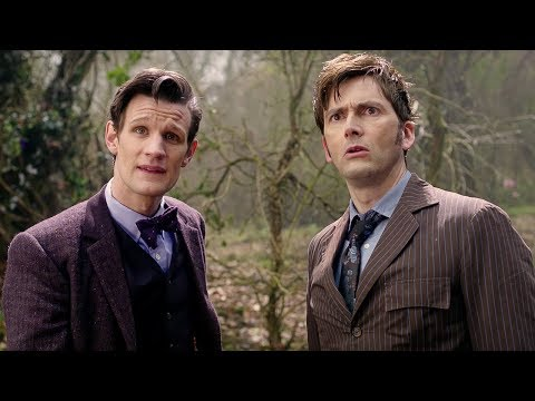 Eleventh Doctor Meets The Tenth Doctor - Doctor Who - The Day of the Doctor - BBC
