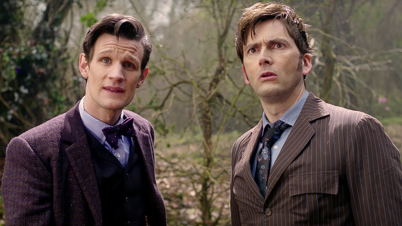 Eleventh Doctor Meets The Tenth Doctor | The Day of the Doctor ...
