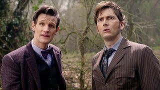 Eleventh Doctor Meets The Tenth Doctor | The Day of the Doctor | Doctor Who