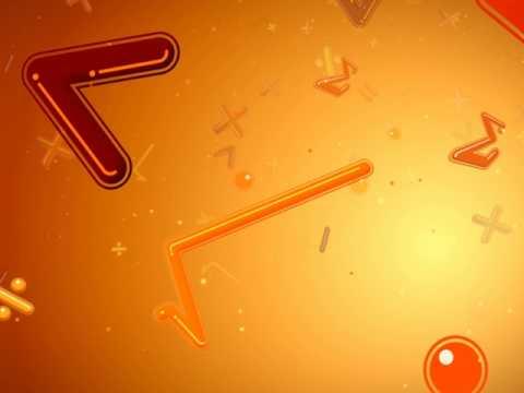 Футаж математические  символы 3