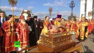 Cerimonia per la reliquia di San Nicola