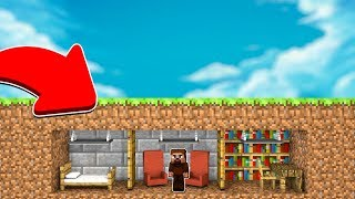 ARDA YER ALTI EVİNİ BÜYÜTÜYOR! 😱 - Minecraft