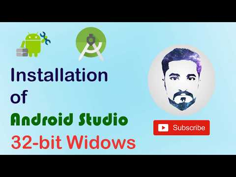 How To Install Android Studio 2019 (32-Bit Windows)