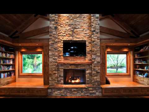 Log Cabin Ambience Rain On The Roof And A Roaring Fire