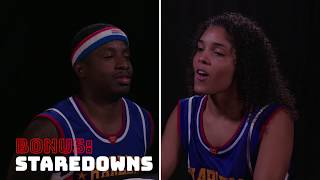 Bad Joke Telling with Whistle Sports | Harlem Globetrotters